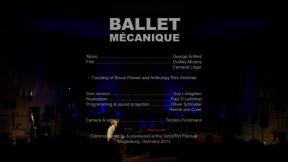 """Guy Livingston """"Ballet Mécanique"""""""
